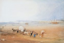 "William Turner ""Strandszene an der Südküste"" 29 x 43 cm"