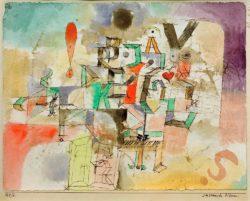 """Paul Klee """"Das litterarische Klavier"""" 26 x 20 cm"""