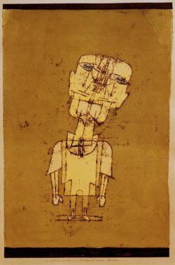 "Paul Klee ""Gespenst eines Genies"" 19 x 27 cm"