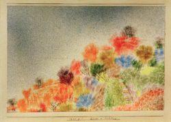"Paul Klee ""Büsche im Frühling"" 24 x 16 cm"