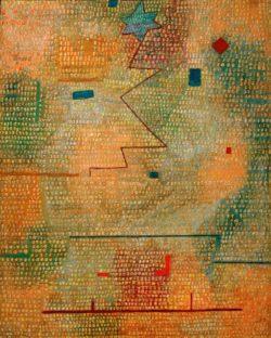 """Paul Klee """"Aufgehender Stern"""" 50 x 62 cm"""