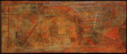 """Paul Klee """"Gedämpfte Härten"""" 51 x 22 cm"""