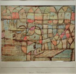 "Paul Klee ""Fruchtbares geregelt"" 26 x 20 cm"