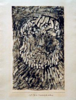"""Paul Klee """"Ein Tragigker (unter anderen)"""" 28 x 45 cm"""