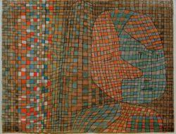 """Paul Klee """"Abseitig"""" 32 x 24 cm"""