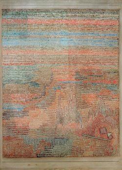 """Paul Klee """"Das Ganze dämmernd"""" 31 x 40 cm"""