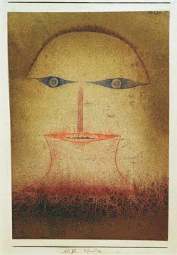 "Paul Klee ""Blaublick"" 19 x 27 cm"