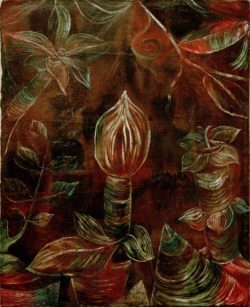"Paul Klee ""Dekoratives Pflanzenbild 'Die Knospe'"" 42 x 52 cm"
