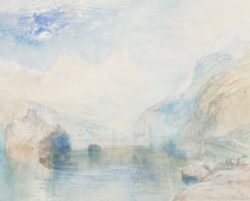 "William Turner ""Lauerzersee mit Schwyz"" 23 x 29 cm"