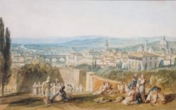 "William Turner ""Florenz"" 14 x 22 cm"