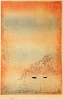 """Paul Klee """"Fisch – physiognomisch"""" 31 x 47 cm"""