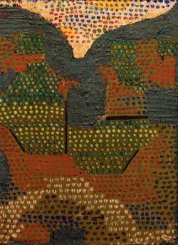 "Paul Klee ""Abend im Tal"" 23 x 34 cm"