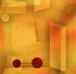"""Paul Klee """"Die Erfindung"""" 51 x 51 cm"""