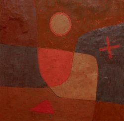 """Paul Klee """"Engel im Werden"""" 51 x 51 cm"""