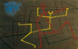 "Paul Klee ""Gelb unterliegt"" 33 x 22 cm"