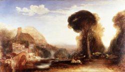 "William Turner ""Palestrina"" 140 x 249 cm"