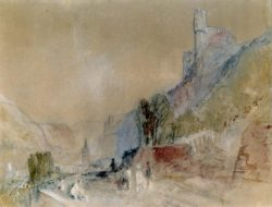 "William Turner ""Trechtingshausen"" 19 x 24 cm"