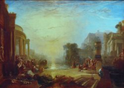 "William Turner ""Der Untergang Karthagos"" 170 x 239 cm"