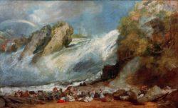 """William Turner """"Rheinfall bei Schaffhausen"""" 145 x 234 cm"""
