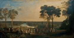 "William Turner ""Richmond Hill, am Geburtstag des Prinzregenten"" 180 x 335 cm"