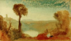 "William Turner ""Der Nemisee (Lago Nemi)"" 60 x 100 cm"