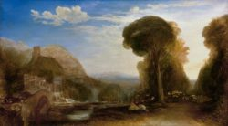 "William Turner ""Palestrina – Komposition"" 141 x 249 cm"