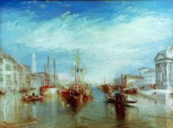 "William Turner ""Venedig, Canal Grande"" 91 x 122 cm"