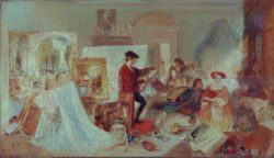 """William Turner """"Watteau-Studie"""" 40 x 70 cm"""
