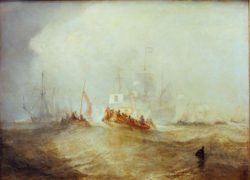 "William Turner ""Wilhelm III. / Landung in Torbay"" 91 x 120 cm"