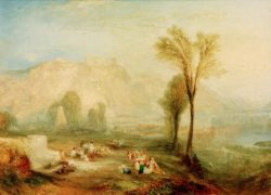 "William Turner ""Ehrenbreitstein"" 93 x 123 cm"