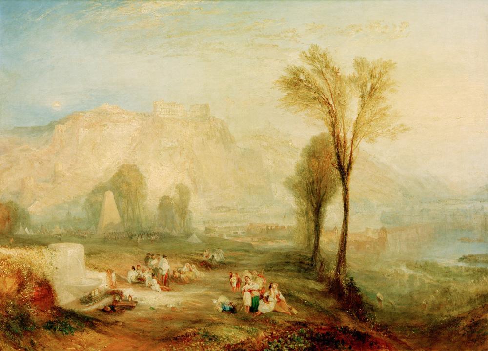 """William Turner """"Ehrenbreitstein"""" 93 x 123 cm"""