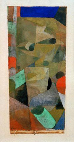 """Paul Klee """"Blick des Dämons"""" 12 x 25 cm"""