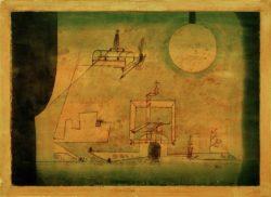 """Paul Klee """"Das Tor zum Hades"""" 39 x 27 cm"""