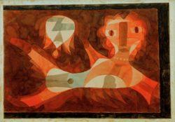 "Paul Klee ""Goldfisch-Weib"" 55 x 39 cm"