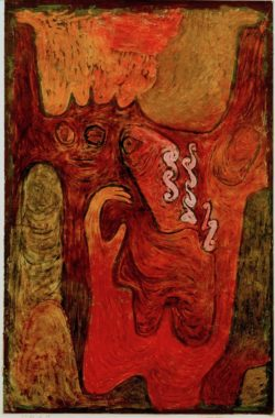 """Paul Klee """"Dryaden"""" 33 x 50 cm"""