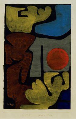 """Paul Klee """"Götzen-Park"""" 21 x 33 cm"""