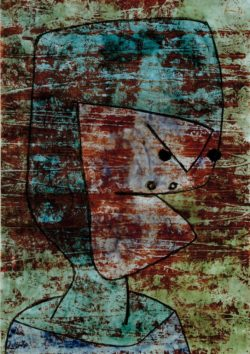 "Paul Klee ""Charon"" 21 x 30 cm"
