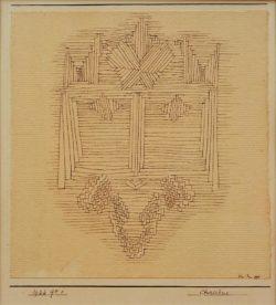 "Paul Klee ""Christus"" 16 x 16 cm"
