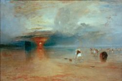 "William Turner ""Strand von Calais"" 73 x 107 cm"