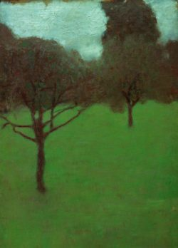 """Gustav Klimt """"Obstgarten"""" 28 x 39 cm"""