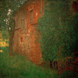 """Gustav Klimt """"Bauernhaus"""" 88 x 88 cm"""