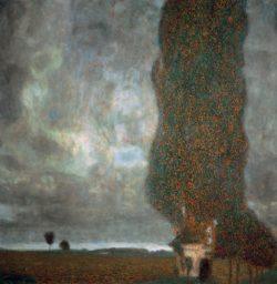 """Gustav Klimt """"Die große Pappel II"""" 101 x 101 cm"""