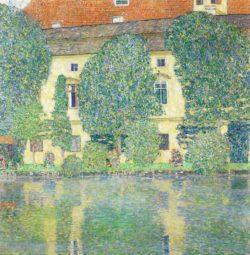 """Gustav Klimt """"Schloß Kammer am Attersee III"""" 110 x 110 cm"""
