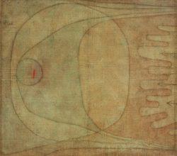 """Paul Klee """"Angst"""" 60 x 50 cm"""