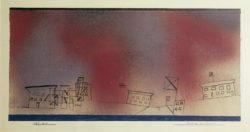"Paul Klee ""Festtag im Winter"" 30 x 15 cm"