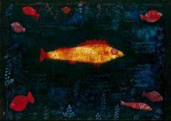 "Paul Klee ""Der goldene Fisch"" 69 x 49 cm"