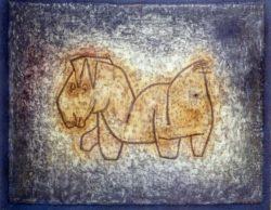 """Paul Klee """"Bastard"""" 70 x 61 cm"""