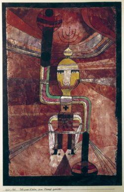 """Paul Klee """"Der grosse Kaiser, zum Kampf gerüstet"""" 28 x 44 cm"""