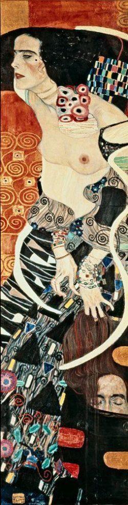 "Gustav Klimt ""Salome (Judith II)"" 46 x 178 cm"