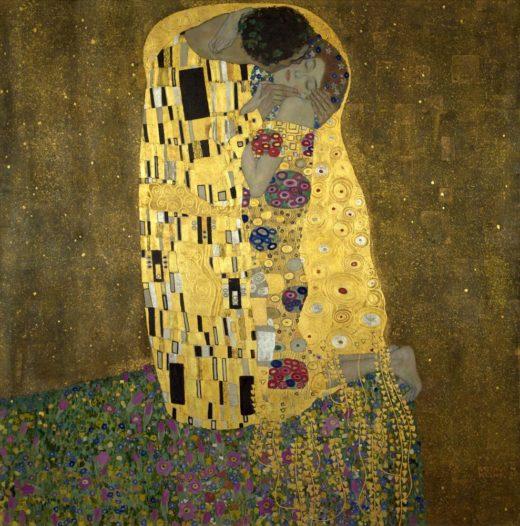 """Gustav Klimt """"Der Kuß"""" 180 x 180 cm 1"""